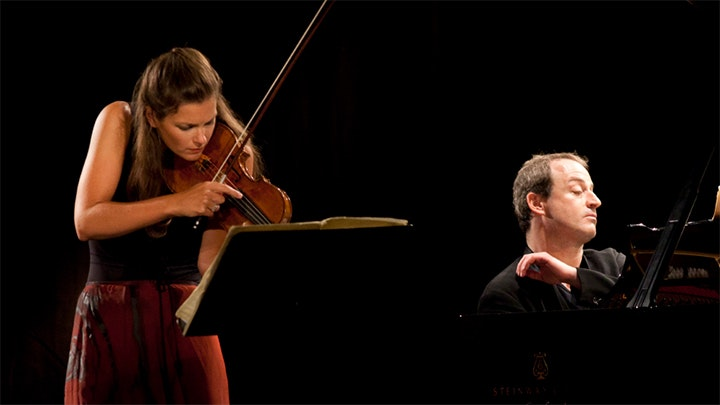 Janine Jansen and Itamar Golan play Bartók, Szymanowski, Dubugnon and Ravel
