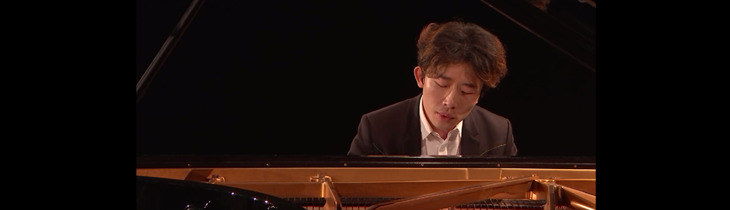 Ji Liu plays Schubert, Rzewski, Liszt, Scriabin, Debussy, and Saint-Saëns