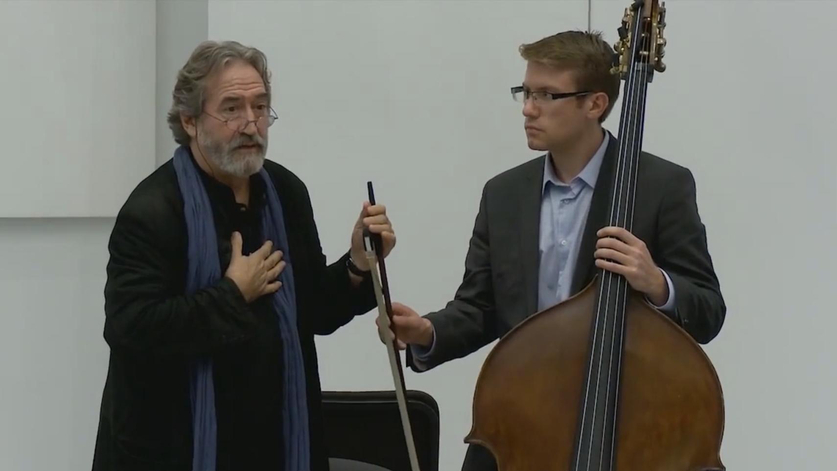 Master Class with Jordi Savall (I/VI)