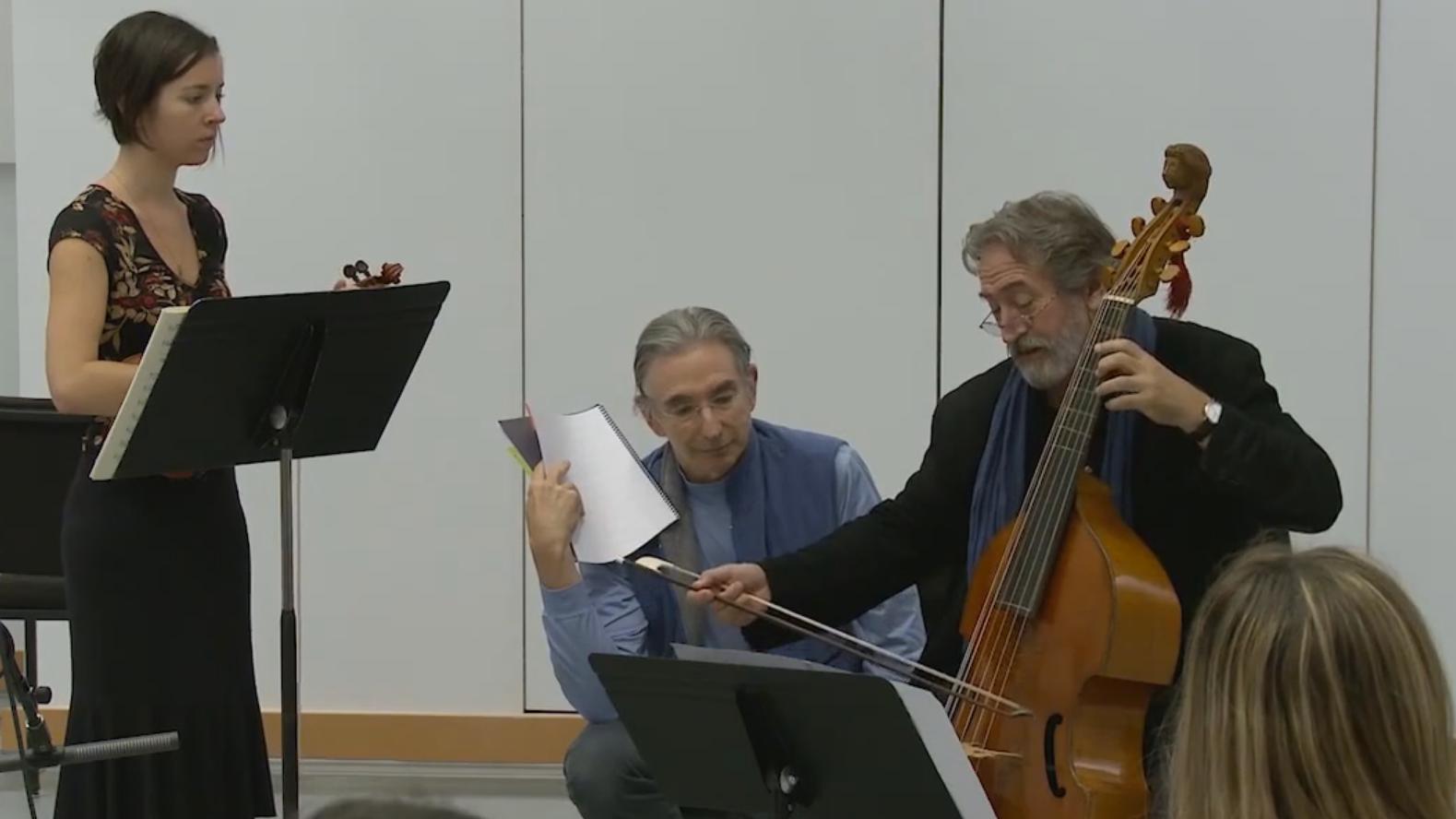 Master Class with Jordi Savall (II/VI)