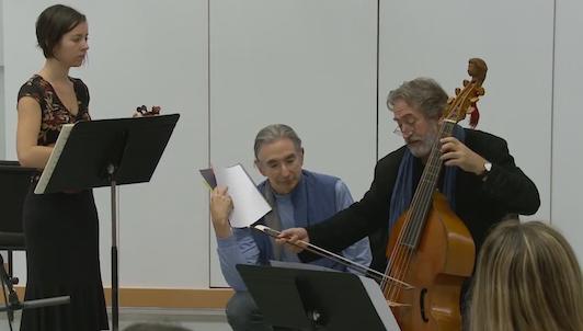 Master Class de Jordi Savall (II/VI)