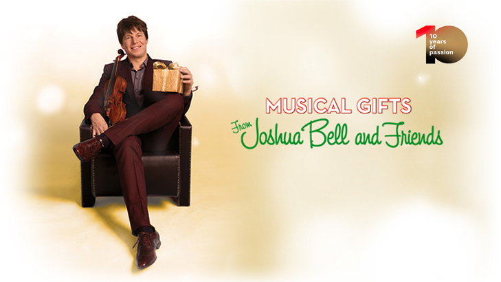 [#medicitvis10] Musical Gifts from Joshua Bell & Friends