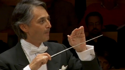 Jun Märkl dirige Strauss   François Sauzeau (artiste)