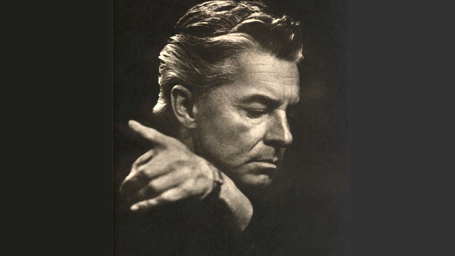 Herbert von Karajan conducts Brahms' Symphony No. 1
