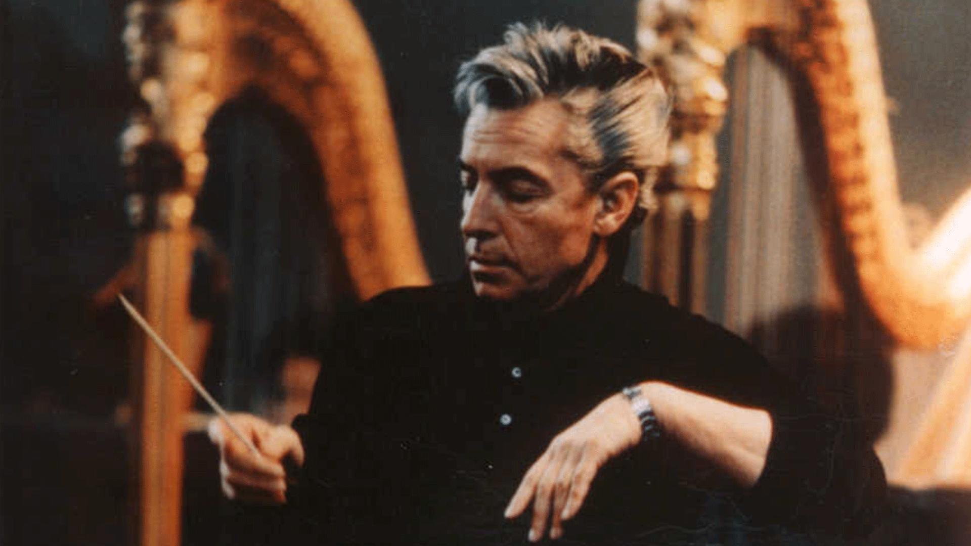 Herbert von Karajan dirige Tableaux d'une exposition de Moussorgski