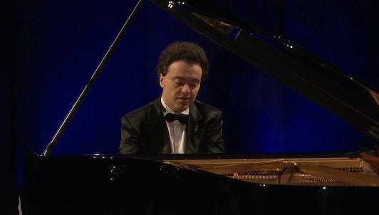 Evgeny Kissin performs Chopin, Schumann, and Debussy