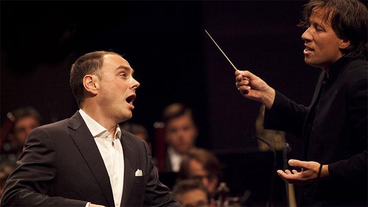 Kristjan Järvi conducts Milhaud, Mahler and R. Strauss – With Stephan Genz