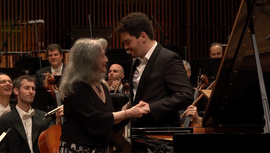 Lahav Shani conducts Beethoven and Brahms – With Martha Argerich