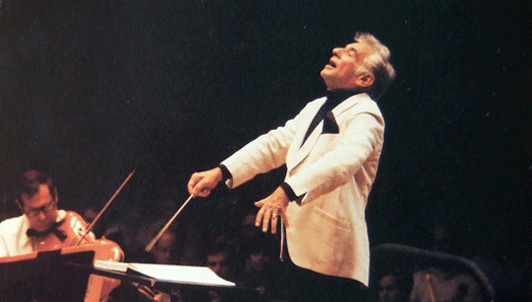Bernstein dirige la Symphonie fantastique de Berlioz