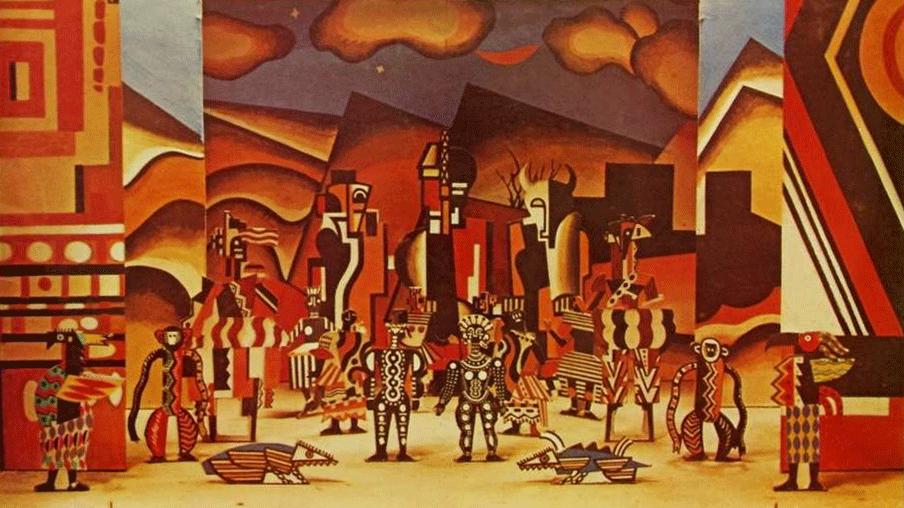 Bernstein conducts Milhaud's La création du monde and Le Bœuf sur le toit