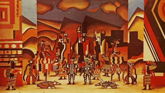 Bernstein dirige La création du monde et Le bœuf sur le toit de Milhaud