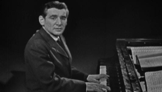 Leonard Bernstein : Introduction à la musique moderne – Omnibus