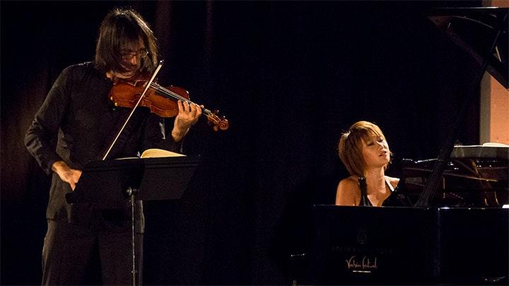 Leonidas Kavakos and Yuja Wang play Brahms' Sonatas