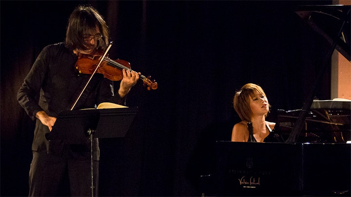 Leonidas Kavakos and Yuja Wang play Brahms' Sonatas