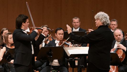 Lorenz Nasturica-Herschcowici dirige le Concerto pour violon n°2 de Mozart – Avec Sergey Dogadin