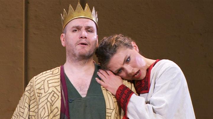 "Making of ""Idomeneo"" in Cuvilliés Theater"