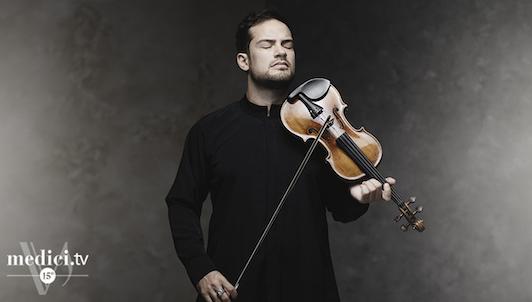 Marc Bouchkov performs Bach, Ysaÿe, and Ernst