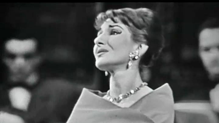 Maria Callas: two recitals in Paris