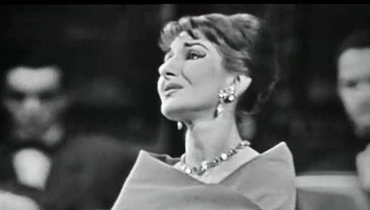 Maria Callas sings two recitals in Paris