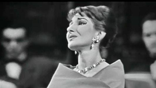 Maria Callas chante deux récitals à Paris