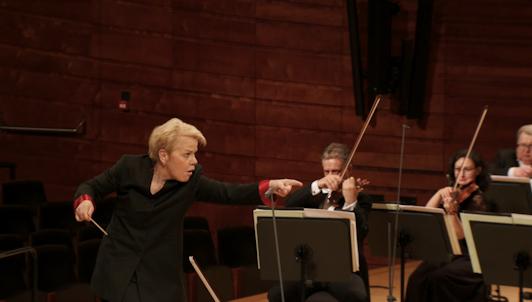 Marin Alsop conducts Wagner, Szymanowski, and Prokofiev — With Ewa Tracz