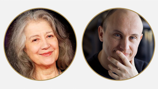 Martha Argerich and Nelson Goerner interpret Debussy, Mozart, and Rachmaninov