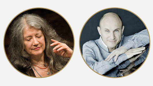 Martha Argerich and Nelson Goerner play Debussy and Rachmaninov