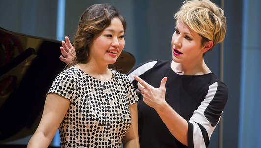 Master Class with Joyce DiDonato at Carnegie Hall (I/III)