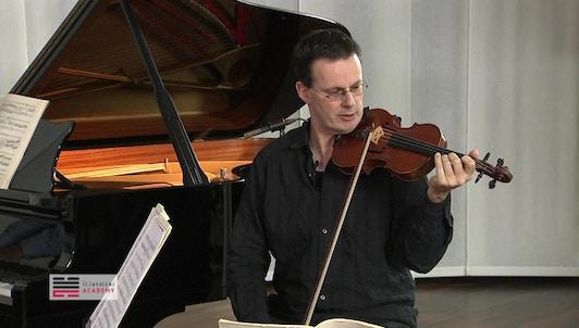 Master Class de Rudolf Koelman (III/III)