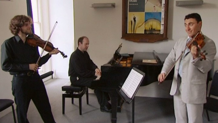 Maxim Vengerov teaches Ravel's Tzigane