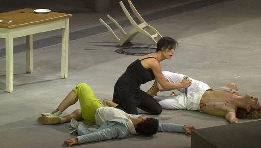 Hans Neuenfels's Medea in Corinto conducted by Ivor Bolton, with Ramón Vargas, Elena Tsallagova...
