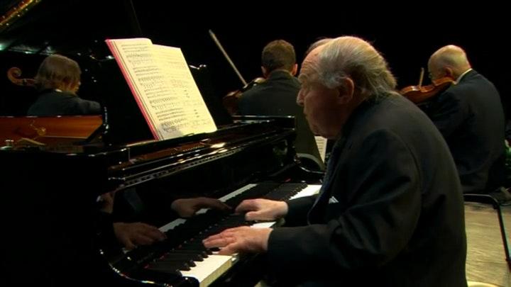 Menahem Pressler, Salvatore Accardo, Antoine Tamestit, and Gautier Capuçon play Schumann and Brahms