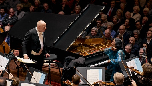 Bernard Haitink conducts Mozart and Bruckner — With Mitsuko Uchida
