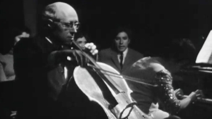 Mstislav Rostropovich plays Shostakovich, Bach, Beethoven and Debussy
