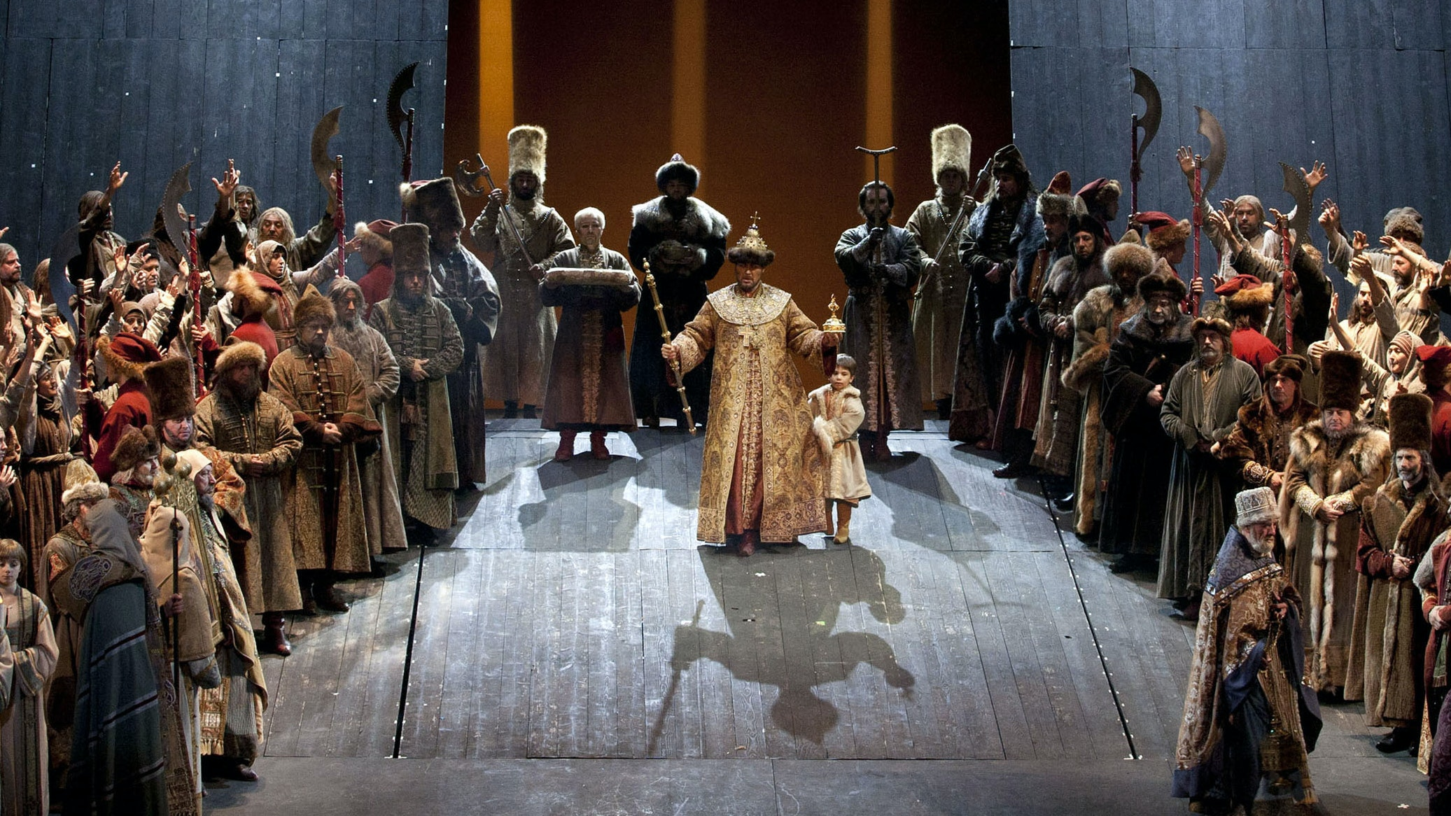 Boris Godunov, Mussorgsky – A View from backstage
