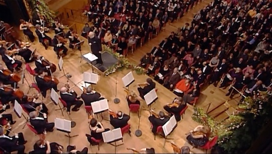 Kurt Masur conducts the 2006 New Year's Concert at the Teatro La Fenice in Venice