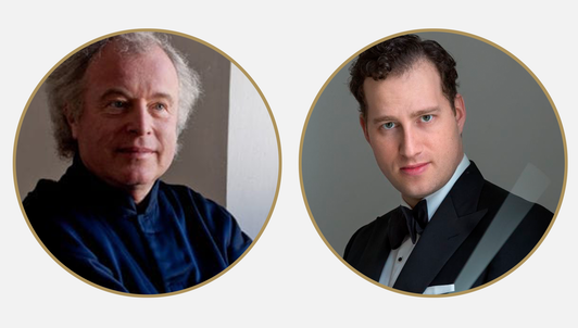 Nikolaj Szeps-Znaider conducts Brahms, Strauss, and Schumann — With Sir András Schiff