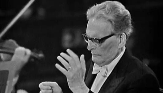 Otto Klemperer dirige la Novena Sinfonía de Beethoven