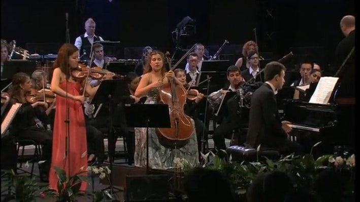 Paavo Järvi, Mayuko Kamio, Alisa Weilerstein and Jonathan Gilad perform Tchaikovsky, Beethoven and Rachmaninov