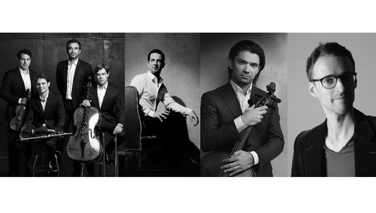 The Modigliani Quartet, Bertrand Chamayou, Gautier Capuçon, and Yann Dubost play Schubert