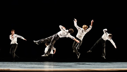 Three ballets by Anne Teresa De Keersmaeker, music by Bartók, Beethoven, and Schoenberg