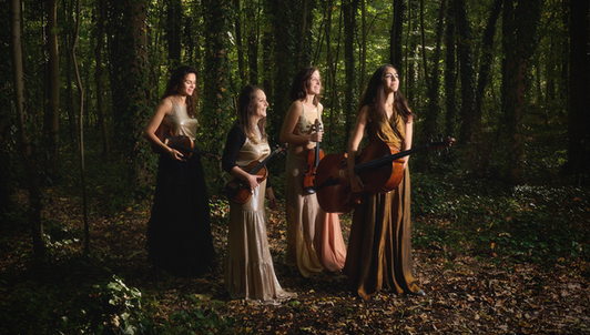 The Quatuor Zaïde interprets Bahaa El Ansary and Schubert — With Marie Ythier, Juliette Salmona, and Le Balcon