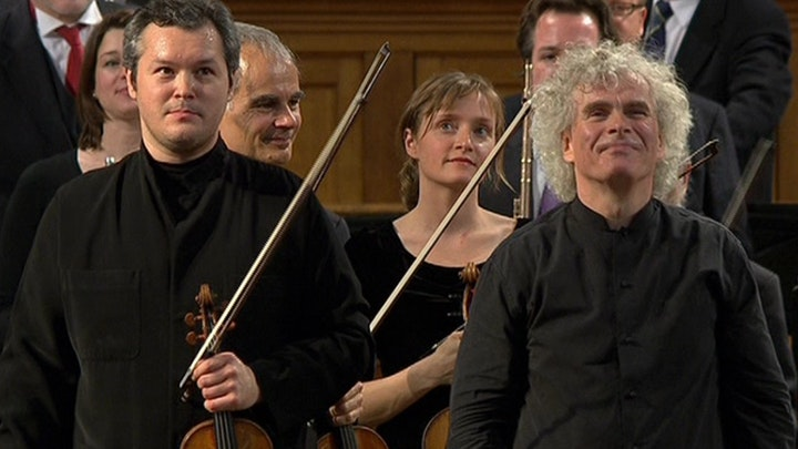 Simon Rattle conducts Bruch, Beethoven and Stravinsky – With Vadim Repin