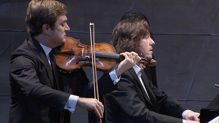 Renaud Capuçon and Franck Braley perform Beethoven's Sonatas No. 1 to 4