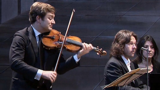 Renaud Capuçon and Franck Braley perform Beethoven's Sonatas No. 5 to 7