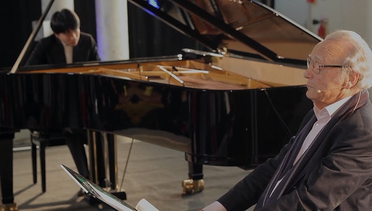 NEW VOD: Kit Armstrong and Alfred Brendel: Conversation Between Words and Music