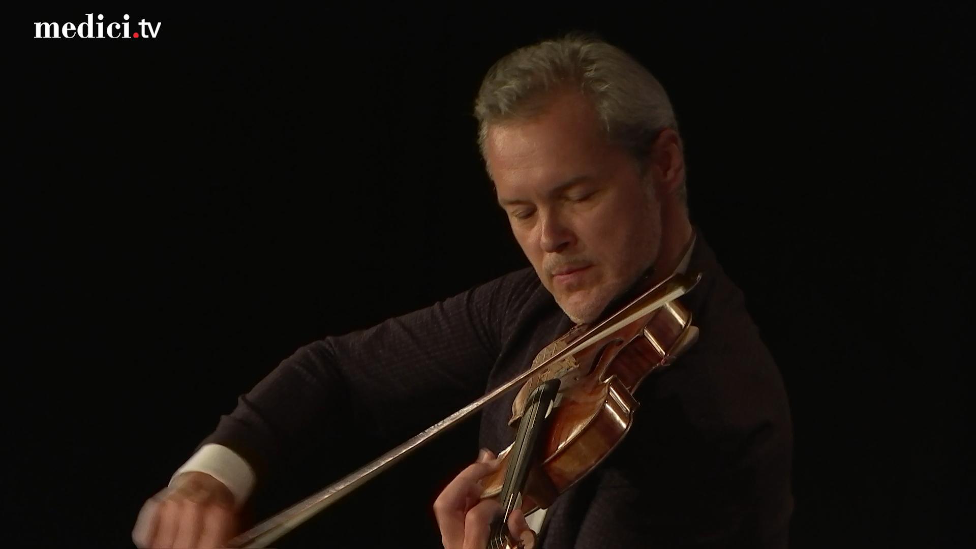 Vadim Repin and Andrei Korobeinikov perform Grieg and Prokofiev