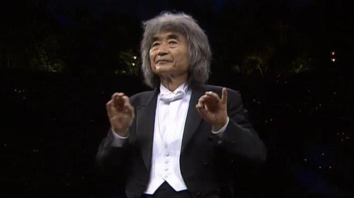 Seiji Ozawa and Marcus Roberts Trio play Gershwin