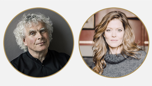 Sir Simon Rattle conducts Ravel, Barber, Harrison, and Varèse — With Barbara Hannigan