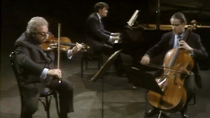 The Istomin-Stern-Rose Trio plays Brahms